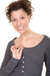 Iriedaily Serafina Longsleeve women (anthracite melange)