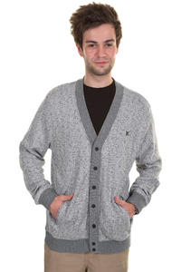 Hurley Retreat Strickjacke (heather white)