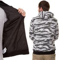 Hurley Flammo Zip-Hoodie (graphite)