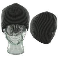 Cleptomanicx Stripes Mütze reversible  (black)