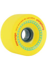 Orangatang Moronga 72.5mm 86A Rollen (yellow) 4er Pack