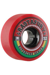 Jart Skateboards Rastafury 52mm Rollen (red) 4er Pack