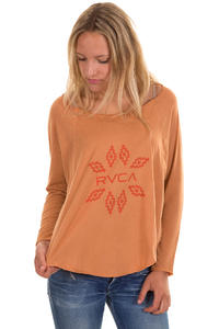 RVCA Prairie Longsleeve women (amber)