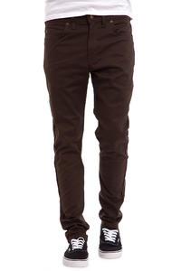 Dickies Slim Skinny Hose (dark brown)