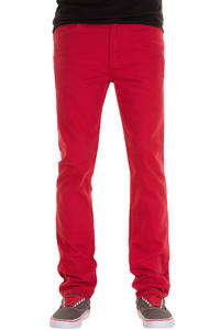 REELL Skin Stretch Jeans (coral red)