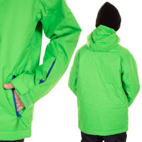 Quiksilver Mission Plain Snowboard Jacke kids (grasshopper)