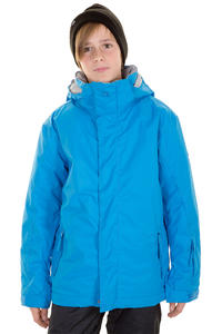 Quiksilver Mission Plain Snowboard Jacke kids (brilliant blue)
