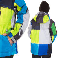 Quiksilver Mission Printed Snowboard Jacke kids (section)