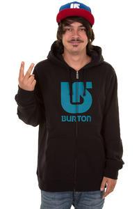 Burton Logo Vertical FA13 Zip-Hoodie (true black)