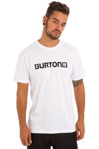 Burton Logo Horizontal T-Shirt (stout white black)