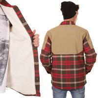 Burton Rapid Flannel Tech Hemd (tobacco harness)