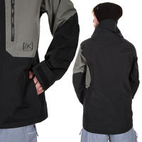 Burton AK Boom Snowboard Jacke (true black monoxide)