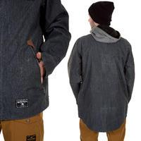 Burton Land Line Snowboard Jacke (grey waxed denim)