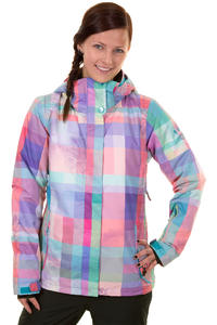 Roxy Jetty Plaid Palm Snowboard Jacke women (multico)