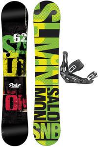 Salomon Pulse 162cm Wide / Pact L Snowboardset 2013/14