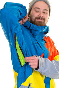 Volcom Johnny Snowboard Jacke (blue)