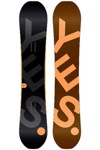 YES The Basic 152cm Snowboard 2013/14