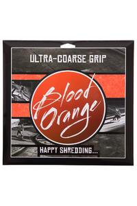 Blood Orange Heavy-Duty Ultra-Coarse Griptape (neon orange) 4 Pack