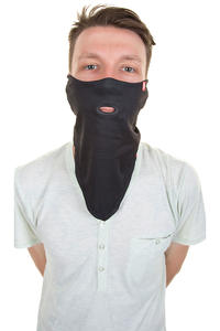Airhole Tie Up Neckwarmer (black)