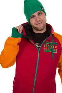 DC Harper Snow Zip-Hoodie (chinese red)