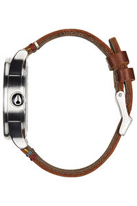 Nixon The Sentry Leather Uhr (black brown)