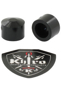 Khiro Small Soft Pivot Cup Gummi (black) 2er Pack