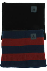 Anuell Tahko Reversible Stripe Neckwarmer (black navy ochre)