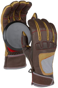 Loaded Advanced Freeride Slide Gloves (brown)
