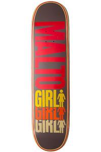 """Girl Malto Triple OG 8.125"""" Deck (grey)"""