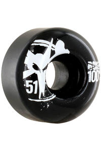 Bones 100's-OG #13 51mm Rollen (black) 4er Pack