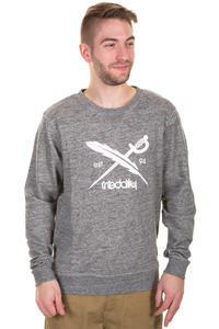 Iriedaily Chamisso Logo Sweatshirt (black melange)