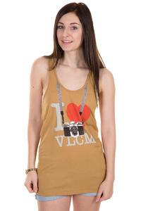 Volcom Printed Stone Only Tank-Top women (brown khaki)