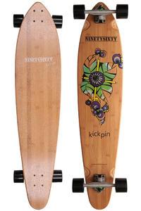 """Ninetysixty Kickpin 42.9"""" (109cm) Komplett-Longboard (flower)"""