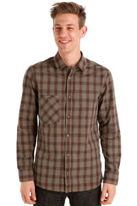 Volcom Windle Plaid Hemd (blood red)