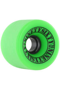 Ninetysixty Freeride 70mm 78A Rollen (green) 4er Pack