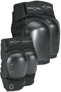 PRO-TEC Street Knee & Elbow Schützer-Set (black)