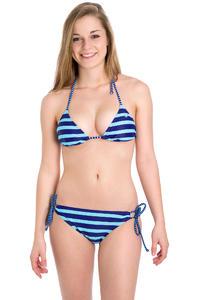 Roxy Tiki Tri 70s Bikini women (deep blue wave length)