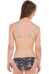 Roxy Double Tiki Tri Bikini women (true black daisy floral)