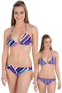 Roxy Tiki Tri Surfer Bikini reversible  women (deep blue graffiti beach)