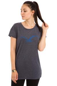 Cleptomanicx Möwe Scribble 2 T-Shirt women (heather dark navy)