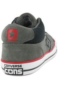 Converse Rune II Mid Suede Schuh (grey black red)