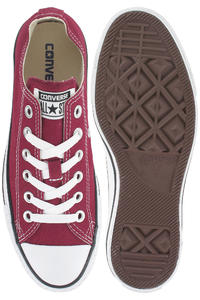 Converse Chuck Taylor All Star Canvas Shoe (maroon)