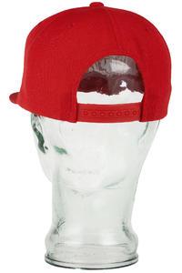 DVS Core Logo Snapback Cap (red)
