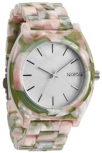 Nixon The Time Teller Acetate Uhr women (mint julep)