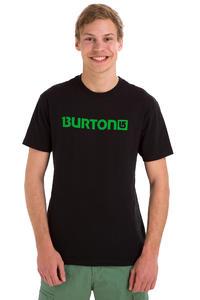Burton Logo Horizontal T-Shirt (true black green)