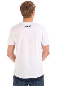 Burton Logo Vertical T-Shirt (stout white)