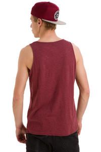 Burton Quality Goods Tank-Top (heather oxblood)