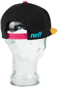 Neff Kenny Corpo Snapback Cap (black yellow cyan)