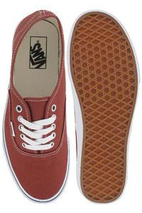 Vans Authentic Shoe (burnt henna true white)