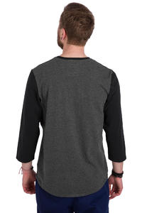 Vans Cajon 3/4 Longsleeve (new charcoal heather black)